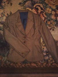 Tailored Jacket (my apologies for the flat presentation)