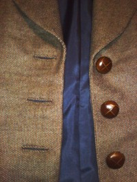 Tailored Jacket: detail