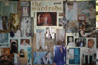 The Wardrobe- mood board