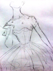 Quick pencil sketch for the Wardrobe