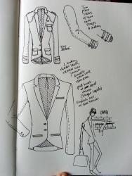Jacket idea sketch