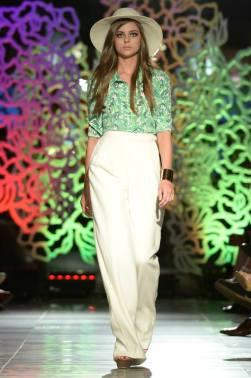"""Look 4: """"Faridah"""". Model: Julia"""